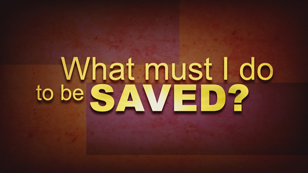 Being Saved